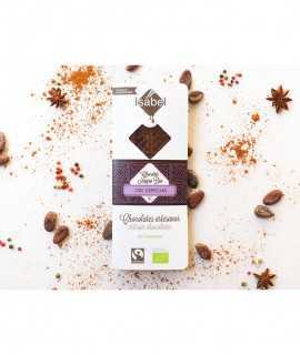 Xocolata negra bio 65% amb espècies