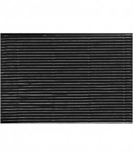 Cartón microcanal 50x65 cm, color negro