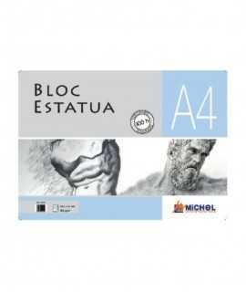 Bloc Dibuix Estatua A4, 100 fulls