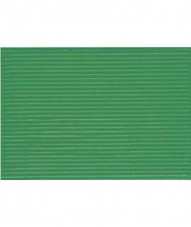 Cartón microcanal 50x65 cm, color verde