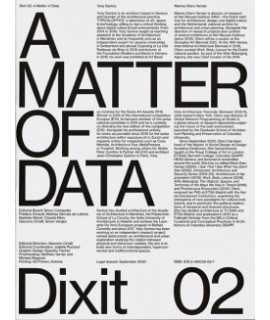 Dixit 02: A Matter Of Data