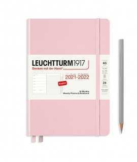 Agenda Leuchtturm1917 semana vista y notas A5 2021, Powder