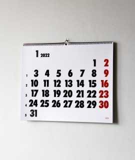 Calendario Vinçon de pared, 2022