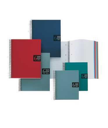 Llibreta Note Book 6 mida din a5