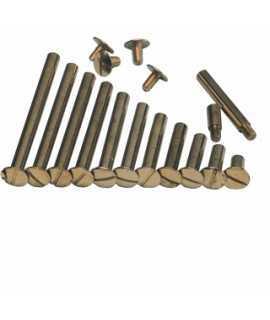 Cargols enquadernadors. Mida: 55 mm