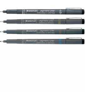 Retoladors Pigment Liner mina 0,20/0,40/0,80 mm