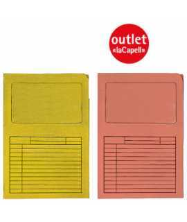 Subcarpeta Windows. Tamaño: 34,5x23,5 cm. Color amarillo.