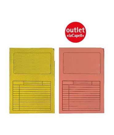 Subcarpeta Windows. Mida: 34,5x23,5 cm. Color groc.