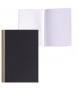 Llibreta cartoné design, DIN A6. Tapa de color negre