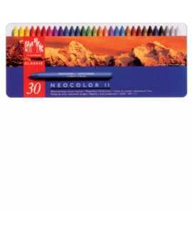 Cretas de colores Neocolor II. 10 unidades