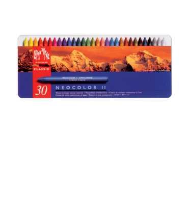 Cretes de colors Neocolor II. 10 unitats