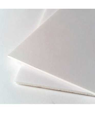 Cartón pluma 70x100 cm, 3mm. Color blanco. 5 unidades