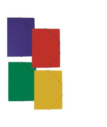 Carpeta amb bossa. 35x25 cm. Color vermell. 5 unitats