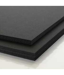 Cartón pluma 70x100 cm, 5mm. Color negro. 5 unidades