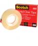 Cinta adhesiva Crystal Clear Tape 600. Mida: 12 mm x 33 m. Rotlle de 33 m. Acabat setinat.