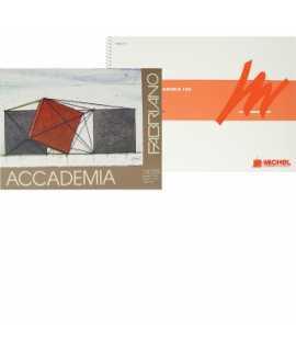 Bloc de dibuix Accademia, 160 g. Mida: 23x32,5 cm. 50 fulls