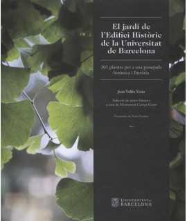 El jardí de l'Edifici Històric de la Universitat de Barcelona