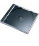 Estoig CD. Capacitat: 1 CD. Color negre i tapa transparent. 10 unitats.