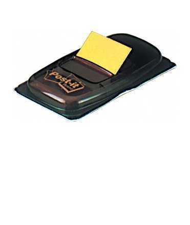 Banderetes Post-it. Mida: 2,5x4,3 cm. Color groc. 50 unitats.