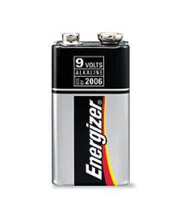 Piles model 6LR61. Voltatge: 9 v. 1 unitat