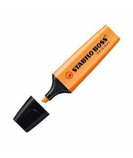 Marcador fluorescent Stabilo Boss. Color taronja