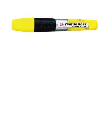 Marcador Luminator color groc