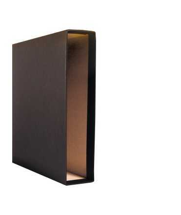 Caixa arxivador. Mida: 32x29x6 cm. Color negre