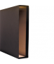 Caixa arxivador. Mida: 33x29x8 cm. Color negre