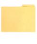 Subcarpeta amb pestanya, DIN A4. Mida: 32,5x23 cm. Color gris