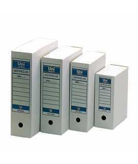 Caixa d'arxiu Unipapel Definiclas, foli. Color blanc