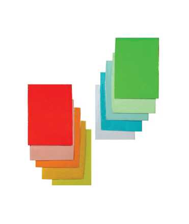 Paper color, DIN A4, 80 g. Color blau cel. 500 fulls