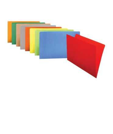 Subcarpeta, DIN A4. Mida: 23,5x31,5 cm. Color marró. 10 unitats.