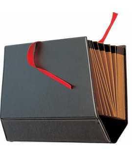Acordeón de cartón tamaño folio