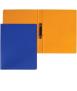 Carpeta, llom 2 cm. Mida: 34x26x2 cm. Color negre. 2 anelles rodones