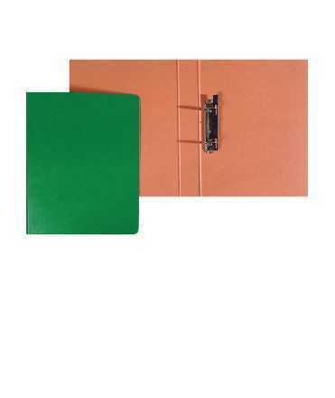 Carpeta, llom 3 cm. Mida: 34x26x3 cm. Color negre. 2 anelles quadrades