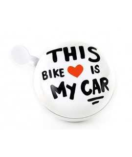 Timbre de bicicleta This Bike Is My Car