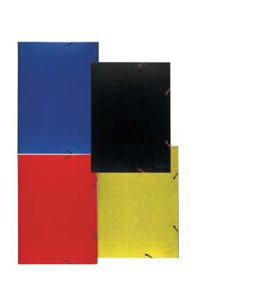 Carpeta de dibuix, amb gomes. Mida: 46x33 cm. Color blau