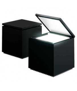 Llum 'Cuboluce'. Color negre