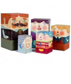 Juego 'Box Family'
