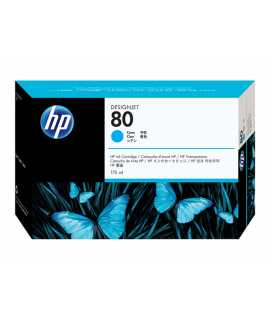 Cartutx HP 80 cian, 175ml. C4872A