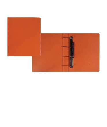 Carpeta, 4 anelles quadrades. Llom 7 cm. Mida: 34x26x7. Color gris