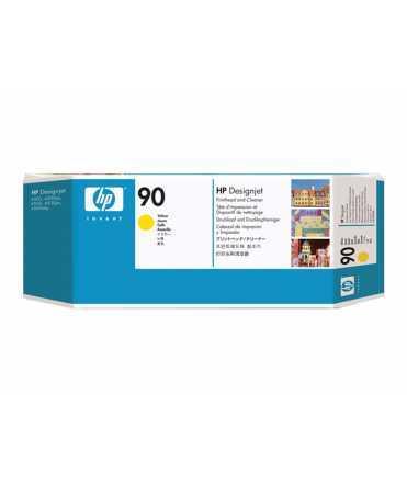 Capçal i netejador HP 90 groc. C5057A