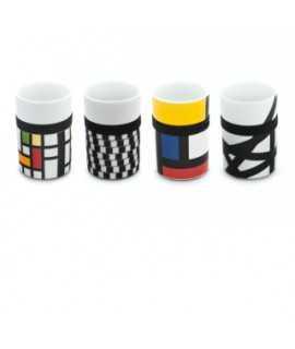 Vasos Mondrian